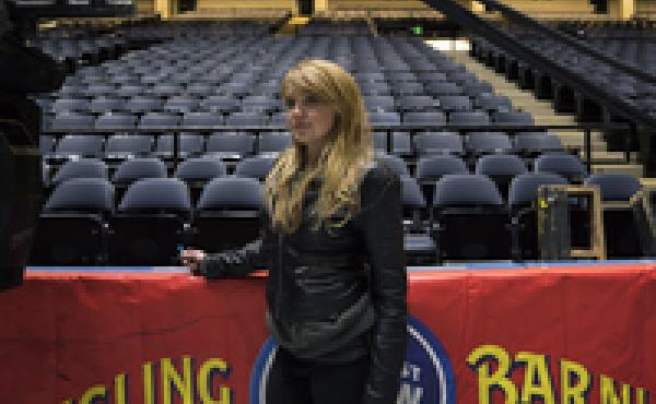 "Lorelei Owens is the head of pyrotechnics for the show. She used to perform in a sideshow, and finished her college degree while she was traveling with a small circus. The end of the Ringling Bros. is ""heartbreaking,"" she says. ""That's the first word that"