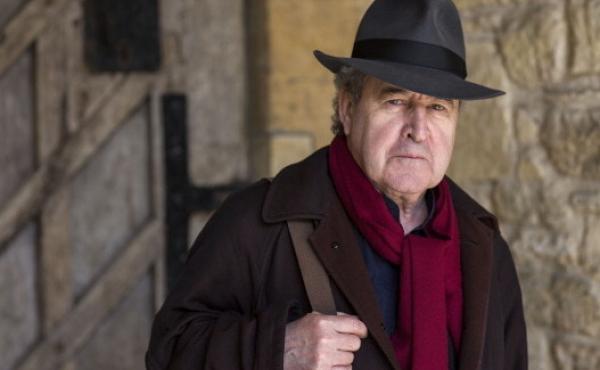 Author John Banville in Oxford, England.