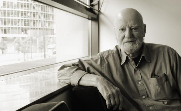 The writer Lawrence Ferlinghetti, pictured here in Berlin in 2004, will turn 100 years old this weekend.