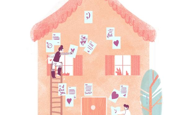 A heart-felt love letter to love letters.