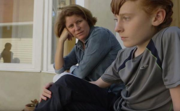 A still from Sophie and Ben.