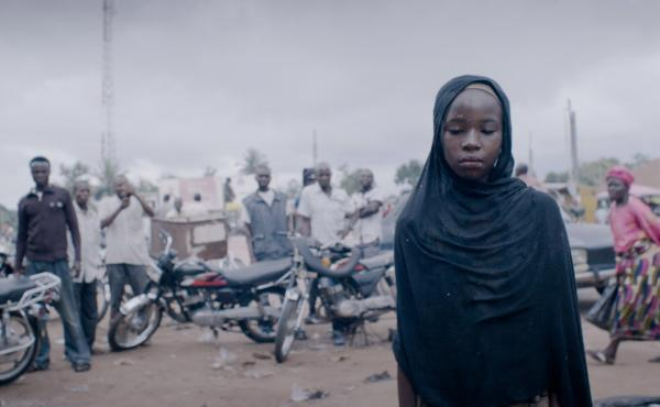 Zubaida Ibrahim Fagge plays Halima, a 13-year-old who suffers from fistula, in the movie Dry.