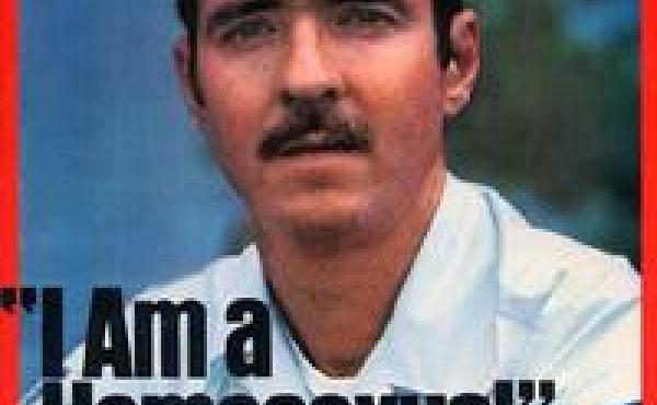 In 1975, Leonard Matlovich appeared on the cover of Time to challenge the military ban on gay service members.
