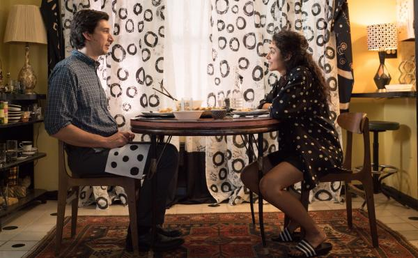 Adam Driver and Golshifteh Farahani in Jim Jarmusch's Paterson.