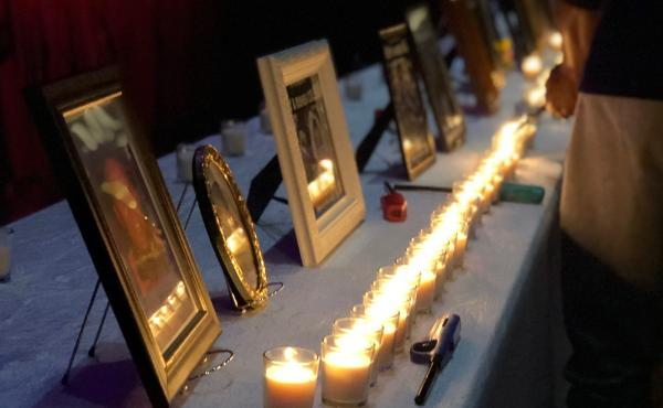 At MOM-O's Thanksgiving Memorial Brunch, family members can light a candle in honor of their lost loved one. In its 25 years, the organization has supported hundreds of families in Charlotte through the loss of a relative after a homicide.