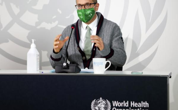 World Health Organization official Dr. Hans Kluge tells reporters that coronavirus cases are rising in Europe.