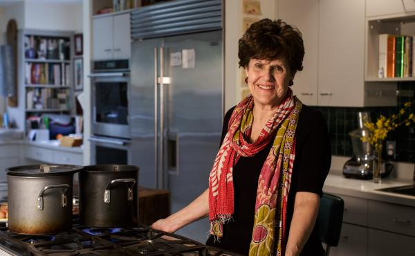 Joan Nathan, the author of 11 cookbooks, has sought out local Jewish food traditions as she's traveled the world.