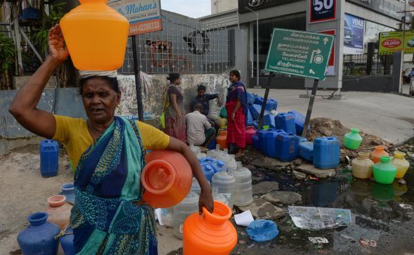INDIA-ECONOMY-WATER
