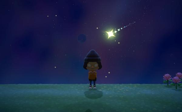 Wish on stars in Animal Crossing: New Horizons and the next morning, jewel-bright star fragments will wash up on your beaches.