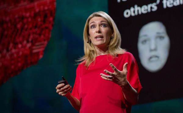 Abigail Marsh speaks at TEDSummit2016, June 26 - 30, 2016, Banff, Canada. Photo: Marla Aufmuth / TED