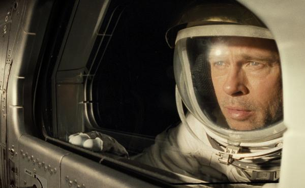More like DAD Astra am I right? Brad Pitt stars as astronaut Roy McBride chasing the ghost of his father across an unforgiving solar system in Ad Astra.