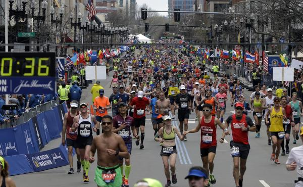 "Adidas apologized for its ""insensitive"" choice of words in a marketing email to customers sent a day after the 121st Boston Marathon."