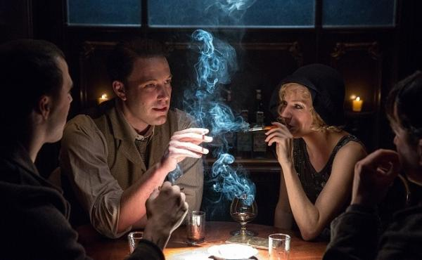 Ben Affleck and Sienna Miller in Live by Night.