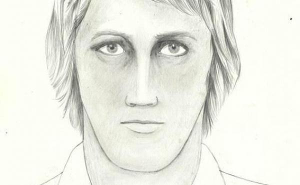 A sketch of the Golden State Killer, an individual associated with a spree of rapes and killings between 1976 and 1986. On Tuesday, police arrested Joseph James DeAngelo and named him as the suspect.