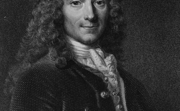 Francois-Marie Arouet, better known as Voltaire (1694-1778). The author and philosopher wrote 'Treatise on Tolerance,' on religious freedom, in 1763. It has gained a renewed readership after Islamist extremists carried out deadly attacks last month in Par