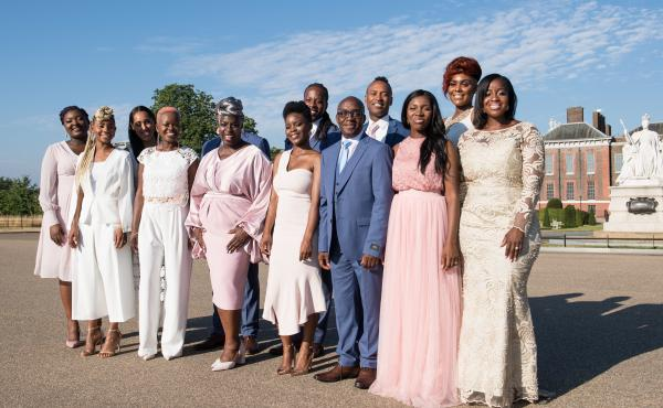 Following their performance at the Royal Wedding of Prince Harry to Meghan Markle, The Kingdom Choir, conducted by Karen Gibson, signed a record deal with Sony Music. Their first album, Stand By Me, is out now.