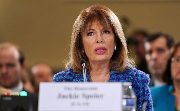 Rep. Jackie Speier, a Democrat from California, testified on Capitol Hill Tuesday, leveling accusations of sexual harassment against a current, unnamed congressman.