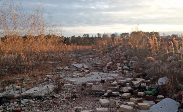The abandoned Cherokee Clay and Brick Mine in Lee County, N.C., may become a landfill for coal ash.