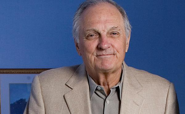 Actor Alan Alda poses for a portrait during the International Film Festival in Toronto.