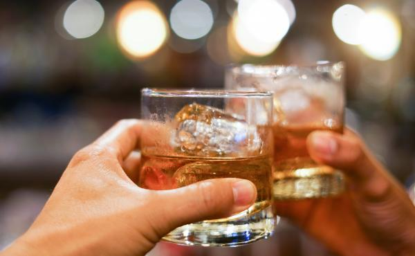 Online delivery service Drizly said its alcohol sales were up 68% on Election Day, compared with the average of the previous four Tuesdays.