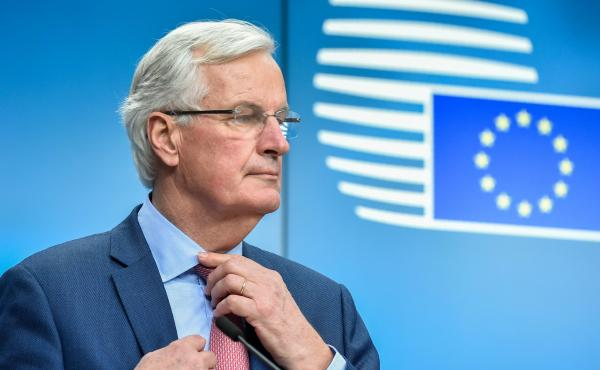 Britain must accept all EU laws during a post-Brexit transition period, including those made after it leaves, says European Union Chief Negotiator Michel Barnier, under rules issued to him by the other European Union countries.