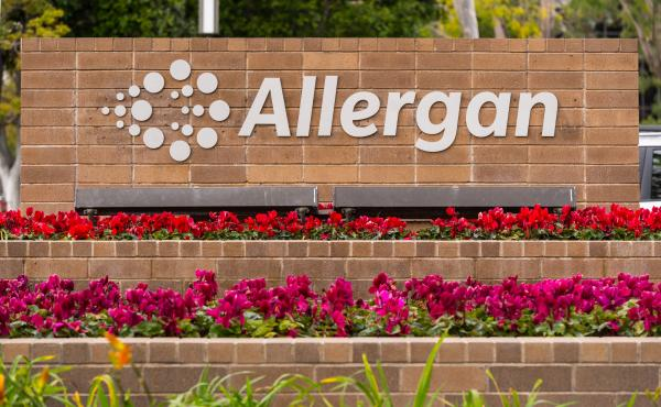 """Allergan said Wednesday that its """"Biocell saline-filled and silicone-filled textured breast implants and tissue expanders will no longer be distributed or sold in any market where they are currently available."""""""