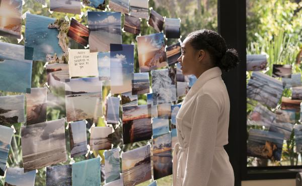Amandla Stenberg stars in Everything, Everything, a complicated love story between a teenaged girl unable to leave her home because of a rare illness, and her new next-door neighbor.