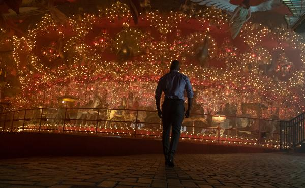 In the American Gods season 2 opener, Shadow (Ricky Whittle) approaches The Carousel, which will ... you know what, it's tough to explain.