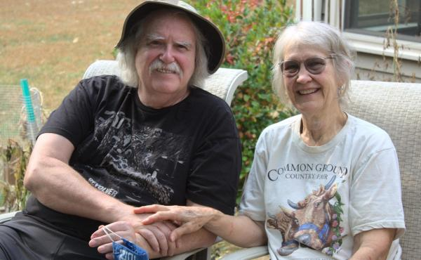 Doug and Judith Saum moved to New Hampshire from Reno, Nevada, to escape the health effects of worsening wildfire smoke.