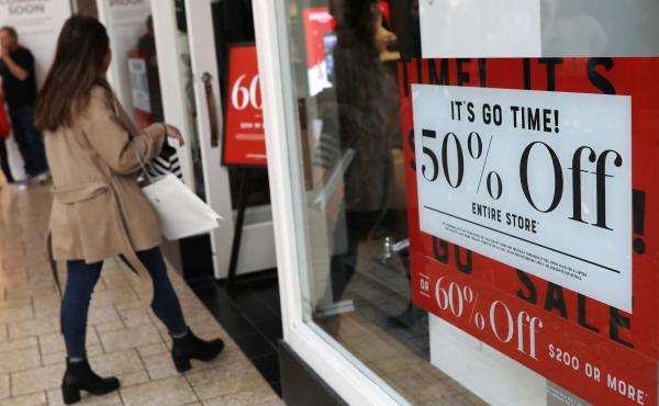 Retail sales fell 1.2 percent in December, the most in nine years. The drop cut into forecasts for economic growth.