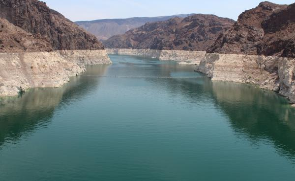 Lake Mead, the nation's largest reservoir, has been hit hard by rising temperatures and downstream demands.