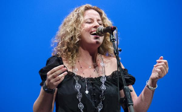 Amy Helm performs on Mountain Stage.