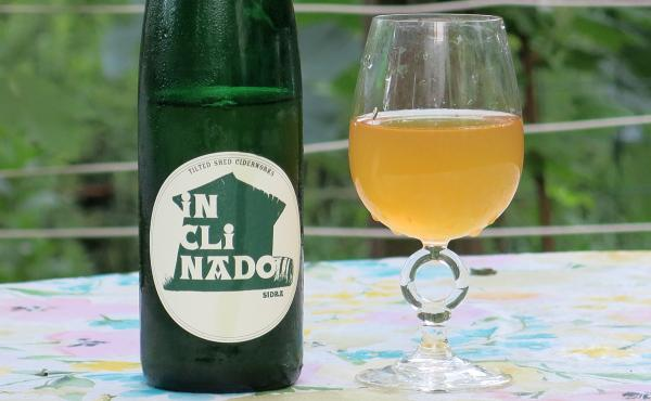 "Tilted Shed's ""Inclinado,"" one of the few American impressions of Spanish-style sidra natural."