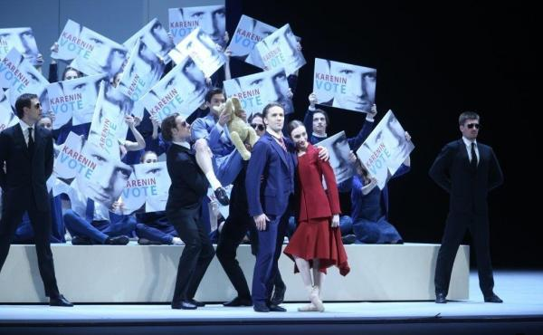 The Bolshoi Theatre's new staging of Anna Karenina features Olga Smirnova as Anna and Andrei Merkuriev as Karenin.