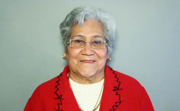 Connie Rocha, now 95, is seen here during her StoryCorps interview in San Antonio on Feb. 18, 2008.
