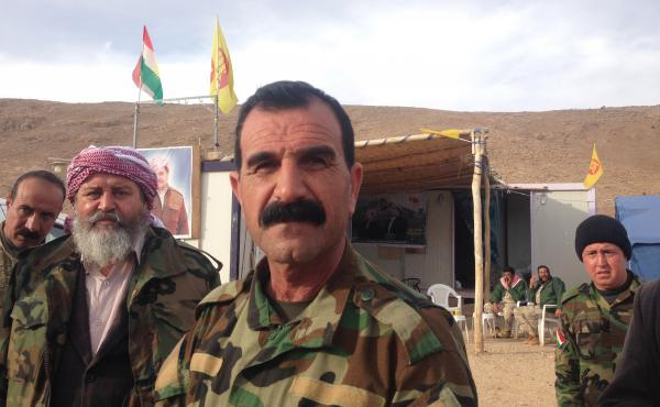 Yazidi commander Badr al-Hajji says he considers any Arab Muslims who stayed in ISIS-controlled areas to be the same as ISIS. When his forces progress to the ISIS-held Arab villages south of Sinjar, he warns that those who remain will face the Yazidis' wr