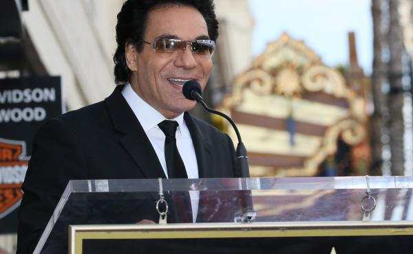 Andy Madadian is honored with a star on the Hollywood Walk of Fame on Jan. 17, 2020 in Hollywood, Calif.