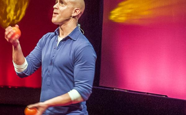 ANDY PUDDICOMBE, UnSeen Narratives, Ted Salon, Unicorn Theatre, Tooley St. London. 10 May 2012.