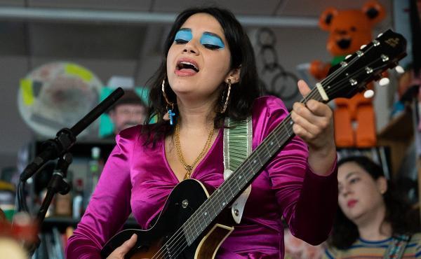 Angelica Garcia plays a Tiny Desk concert.