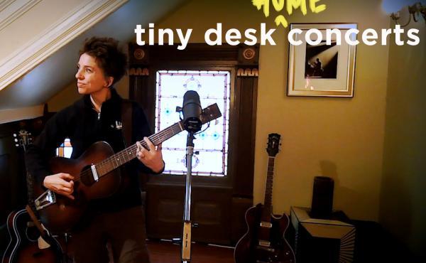 Ani DiFranco performs a Tiny Desk (home) concert.
