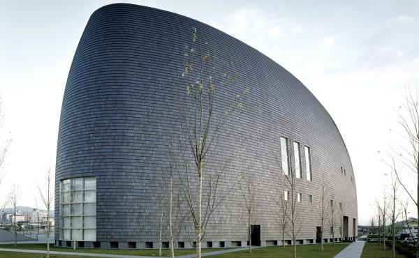 The Nara Centennial Hall in Japan, built in the late 1990s, went up in the prefecture of Nara as the municipality celebrated a century of existence.