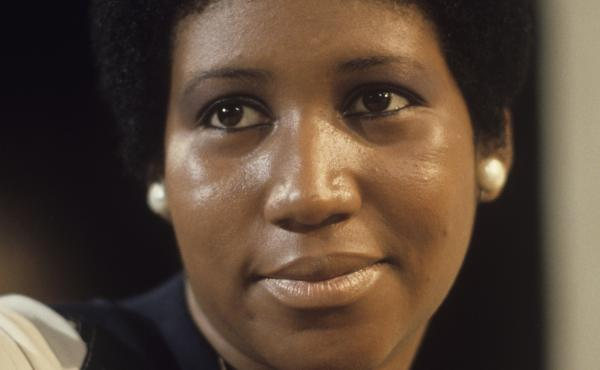 Aretha Franklin, pictured during a television appearance in January 1972, the same month in which the project Amazing Grace was recorded.