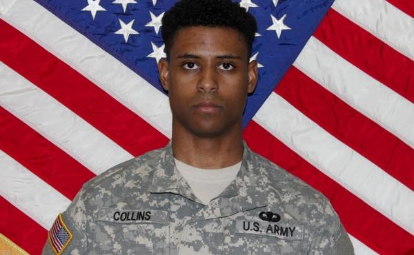 This undated photo provided by the U.S. Army shows Richard Collins III. He was murdered in 2017 days after being commissioned by the U.S. Army as a second lieutenant.