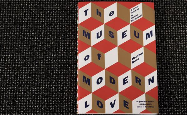 Cover of The Museum of Modern Love (Credit: Emily Bogle/NPR)