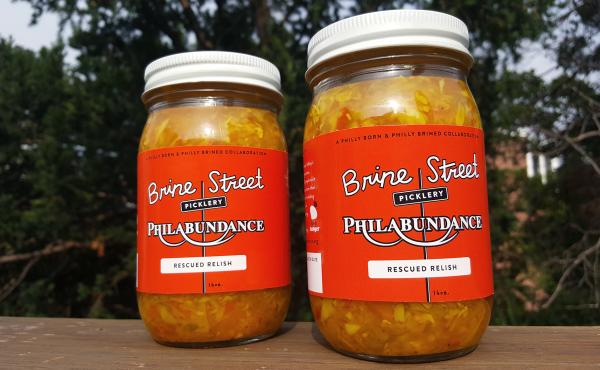 Rescued Relish is an anything-goes condiment made from excess produce that Philabundance, a Philadelphia anti-hunger organization, can't move. The relish is modeled on a Pennsylvania Dutch chowchow recipe — a tangy mix of sweet, spicy and sour flavors.