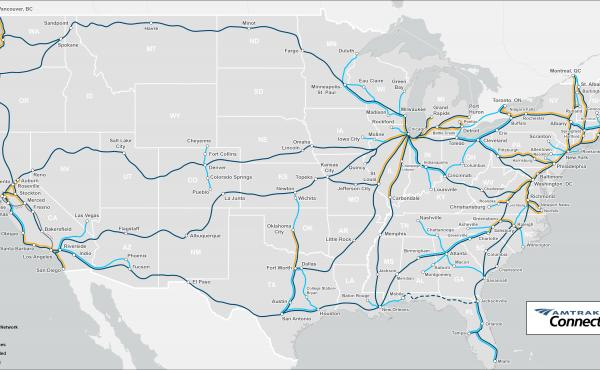 Amtrak has proposed a plan for new and enhanced rail connections across the United States.