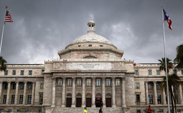 Puerto Rico faces a financial crisis with a debt of $72 billion.