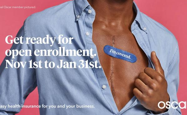 Health insurance company Oscar has started its own ad campaign for the Affordable Care Act.