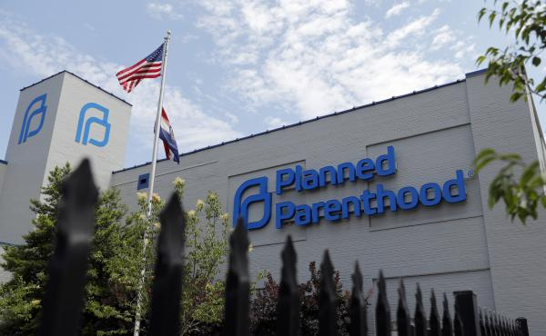 A Planned Parenthood clinic in St. Louis is shown in June. The clinic has all but ceased providing abortions after Missouri tightened restrictions.