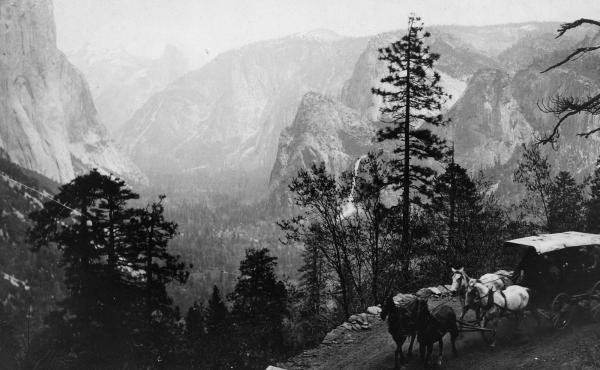 Over the past century and a half, visitors have traveled through Yosemite on foot, by carriage, by tram and by car. Now some regions will be once again be accessible only by foot, to protect delicate regions of the park.